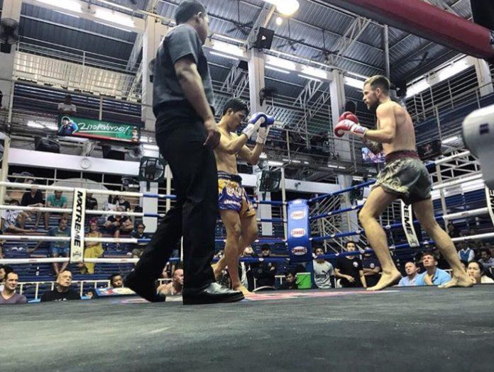 организация боя на стадионе, муай тай, тайский бокс, промоушне